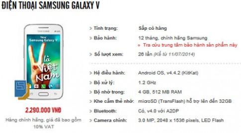 Samsung sắp ra smartphone giá rẻ cạnh tranh Zenfone 4