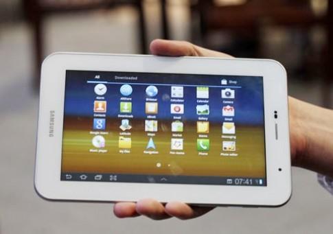 Samsung sẽ ra bốn máy tính bảng màu trắng tại MWC