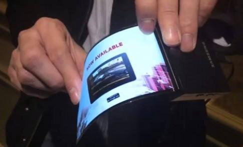 Samsung sẽ ra smartphone màn hình gập được vào năm sau