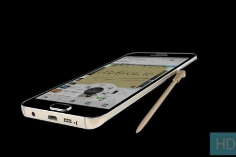 Samsung sẽ trình làng Galaxy Note 5 giữa tháng 8