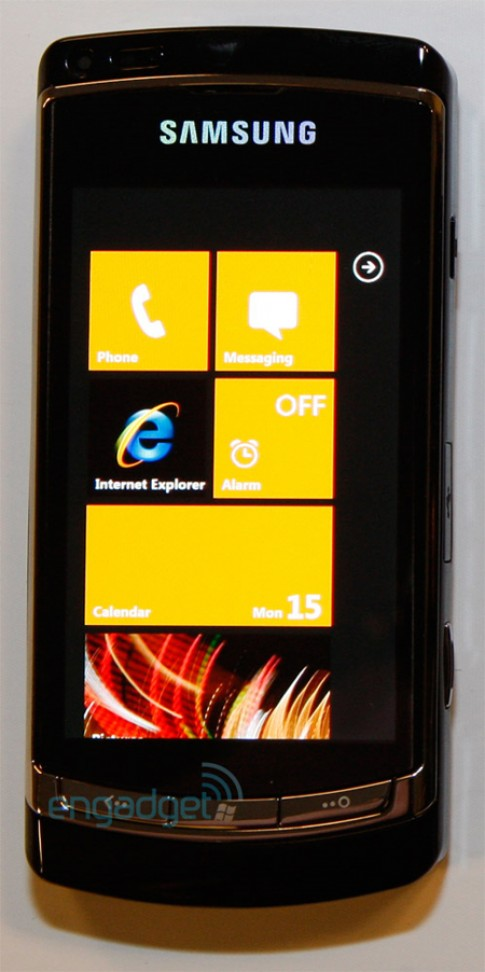 Samsung Slate chạy Windows Phone 7