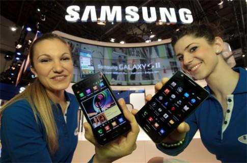 Samsung thắng lớn tại quê nhà nhờ Galaxy S II