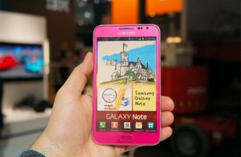 Samsung thêm Galaxy Note màu hồng