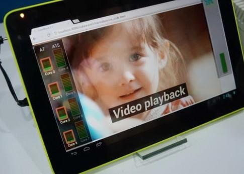 Samsung trình diễn sức mạnh chip Exynos 5 Octa