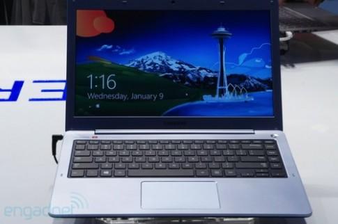 Samsung trình làng ultrabook series 5 cảm ứng tầm trung