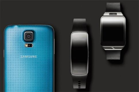 Samsung tung video dùng thử Galaxy S5 và Gear Fit