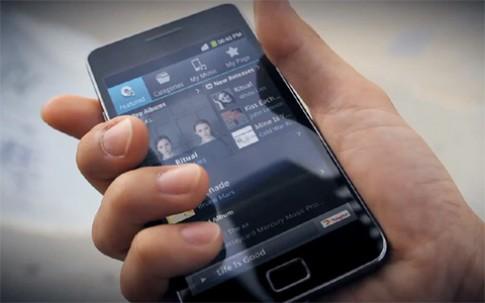 Samsung xác nhận Galaxy S II sẽ lên Ice Cream Sandwich
