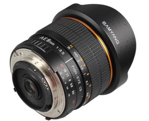 Samyang 8 mm f/3.5 thêm bản cho máy Nikon