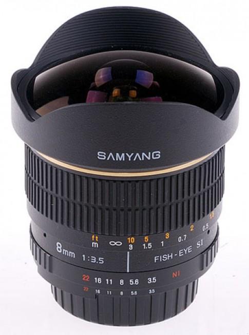 Samyang sẽ sản xuất ống kính cho hệ máy Samsung NX