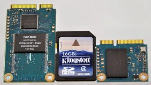 SanDisk giới thiệu ổ SSD nhỏ bằng thẻ SD