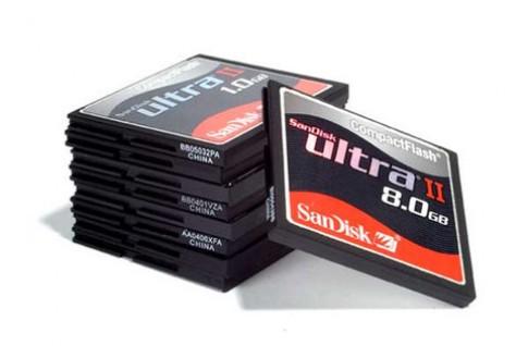 Sandisk, Sony và Nikon muốn có 'siêu thẻ' CF mới