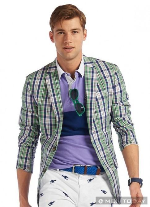 Sành điệu với trang phục sắc màu cho chàng golfer