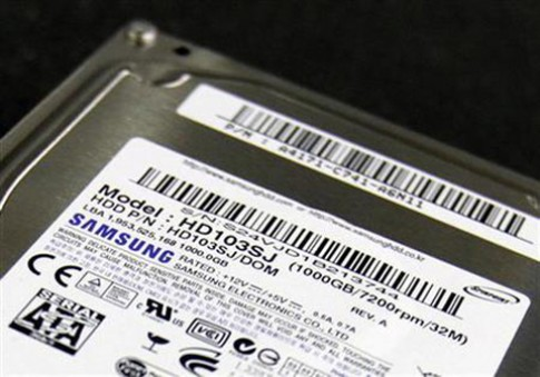 Seagate mua lại mảng ổ cứng của Samsung với 1,4 tỷ USD