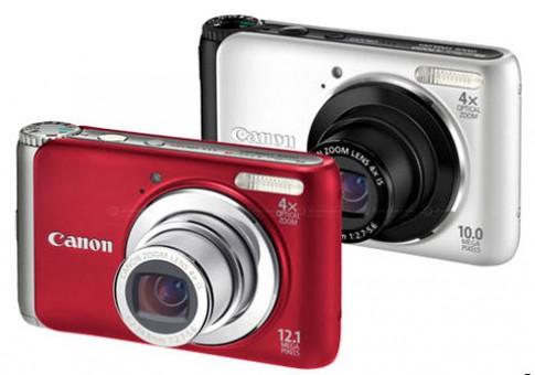 Series máy ảnh Canon chống rung mới