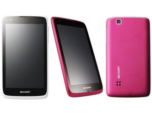 Sharp ra mắt bộ ba smartphone Android 4.0