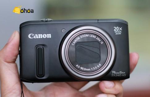 Siêu zoom 20x nhỏ gọn của Canon