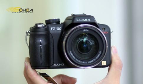 Siêu zoom FZ100 quay video Full HD