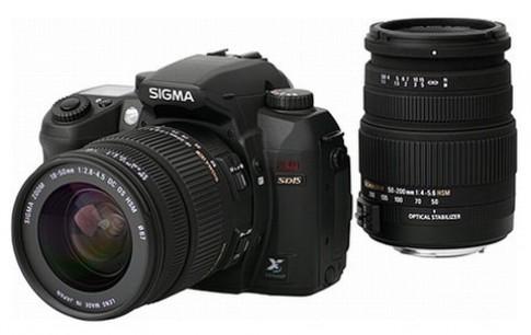 Sigma giới thiệu bộ SD15 kèm hai ống zoom