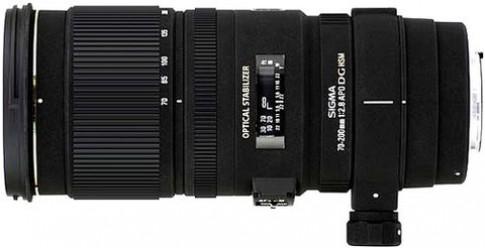 Sigma ra ống 70-200mm cho Pentax và Sony