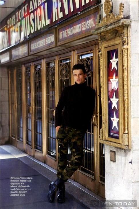 Simon Nessman đa phong cách trên tạp chí Harper's Bazaar Men Thailand