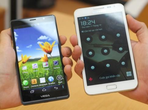 Sky Vega R3, đối thủ của Galaxy Note về VN