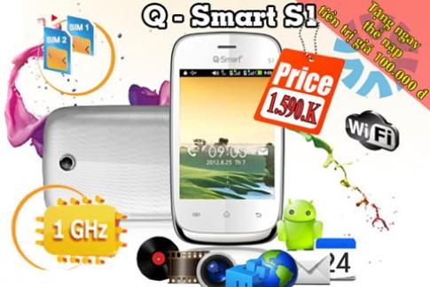 Smartphone 2 sim 2 sóng giá rẻ CPU 1 GHz