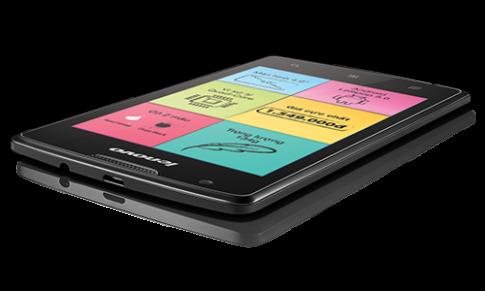 Smartphone 2 sim, chip bốn nhân giá 1,5 triệu đồng
