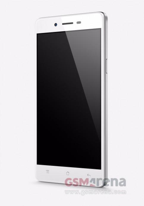 Smartphone 2 sim dáng mỏng, thời trang mới của Oppo