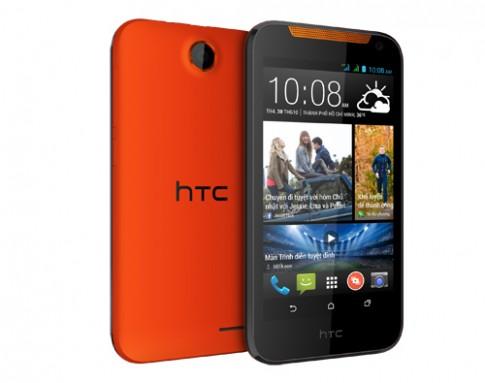 Smartphone 2 SIM giá rẻ nhất của HTC tại VN