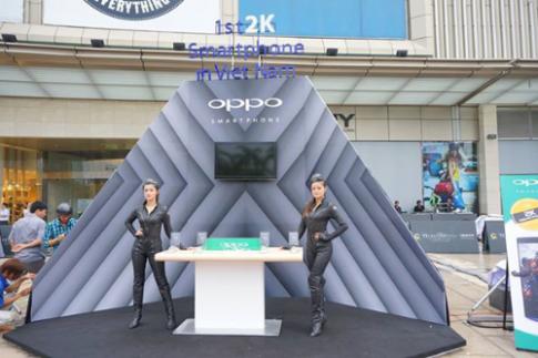 Smartphone 2K đầu tiên ra mắt tại Việt Nam
