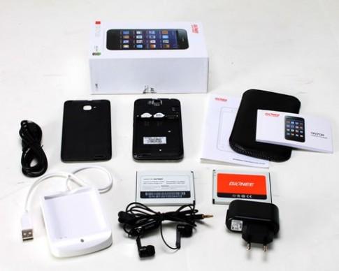 Smartphone 4 nhân giá rẻ Gionee GN708