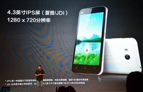 Smartphone Android 4.1 lõi tứ giá hơn 6 triệu đồng ra mắt