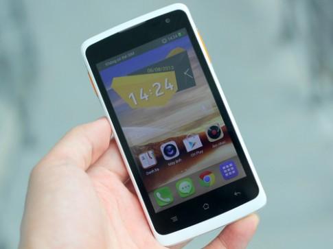Smartphone Android 4.2 giá rẻ tích hợp sim 3G kép