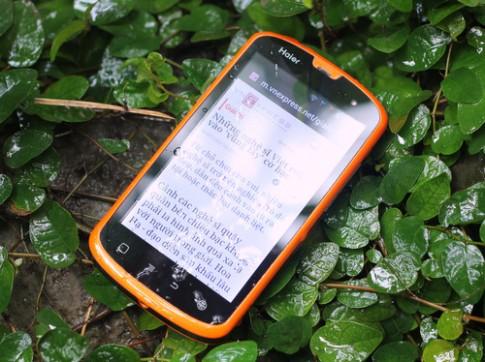 Smartphone Android chống nước giá rẻ, hỗ trợ 2 sim