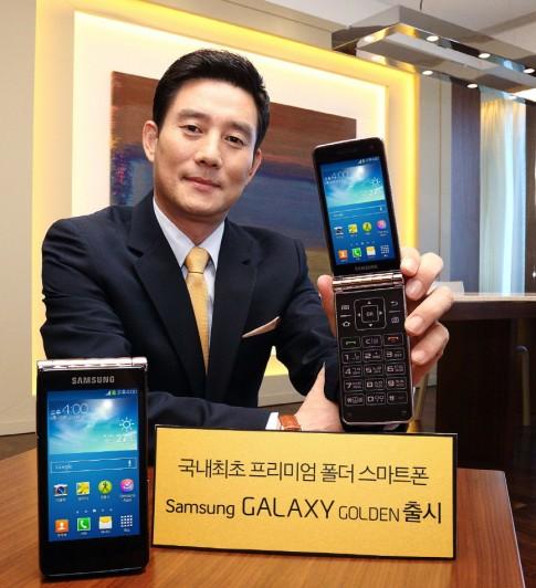 Smartphone Android nắp gập màn hình kép thứ hai của Samsung