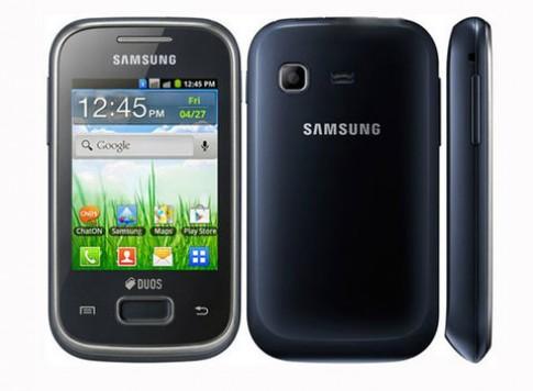 Smartphone Android rẻ nhất của Samsung thêm bản 2 SIM
