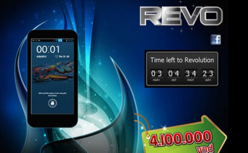Smartphone Android Revo 'bí ẩn' ở VN