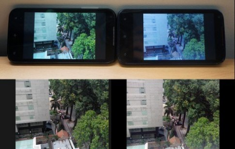 Smartphone bình dân đầu tiên dùng cảm biến BSI và chip lõi tứ
