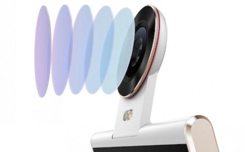 Smartphone camera 13 megapixel lật xoay dạng bản lề
