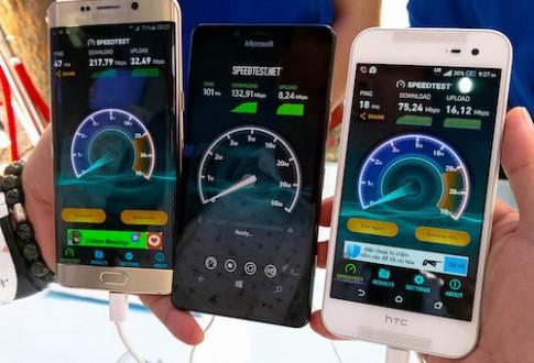 Smartphone cao cấp tại Việt Nam chưa hỗ trợ tốc độ 4G lý tưởng