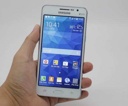 Smartphone chụp hình tự sướng tầm trung của Samsung ra mắt