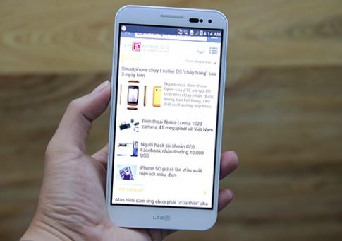 Smartphone có bảo mật vân tay Pantech Vega LTE-A A880
