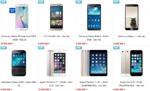 Smartphone cũ tràn ngập thị trường dù sắp bị cấm nhập