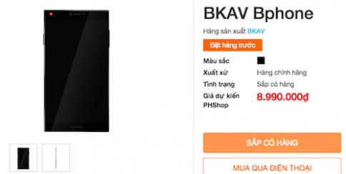 Smartphone của Bkav sẽ có giá tầm 13 triệu đồng