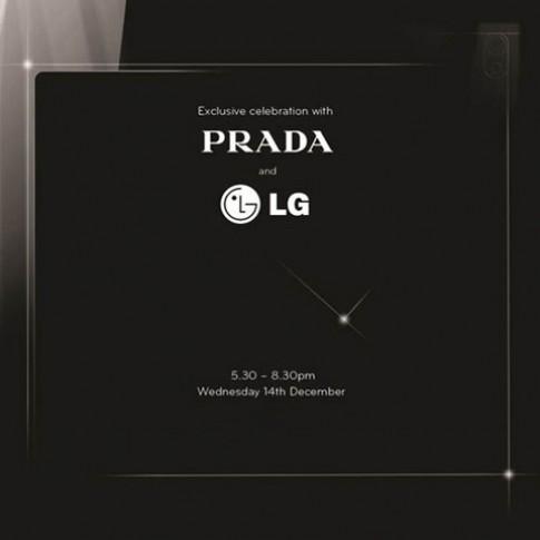 Smartphone của LG và Prada ra mắt 14/12