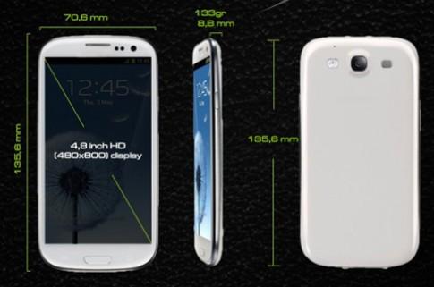 Smartphone 'đàn em' ăn theo Galaxy S III