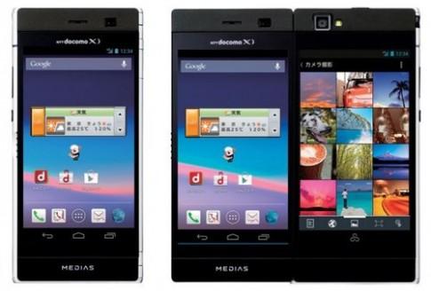 Smartphone dáng gập 2 màn hình 4,3 inch