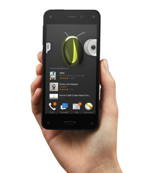 Smartphone đầu tiên của Amazon ra mắt với giao diện 3D
