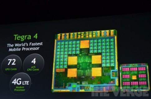Smartphone đầu tiên dùng chip 4 nhân Tegra 4 trình làng