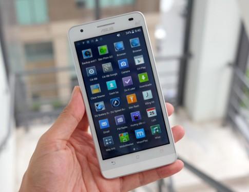 Smartphone dùng chip 64-bit giá hơn 3 triệu đồng
